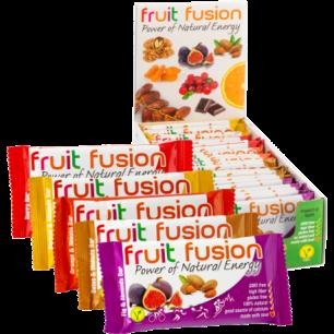 Barritas de fruta y cereales